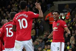 MU có số lượng cầu thủ ghi bàn thấp khó tin ở Ngoại hạng Anh