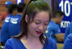 """""""Đập hộp"""" bộ racekit của giải chạy Pocari Sweat Việt Nam tại Vạn Hạnh Mall"""
