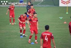 ĐT Việt Nam cười thả ga với bài tập tăng cường tốc độ
