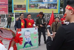 Những CĐV đặc biệt trong ngày tuyển Việt Nam đấu UAE