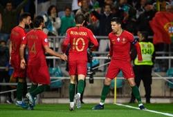 Anh và Bồ Đào Nha rủ nhau vùi dập đối thủ tại vòng loại Euro