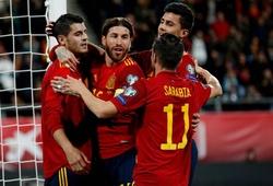 Vì sao Tây Ban Nha thắng 7 bàn vẫn chưa chắc suất hạt giống Euro 2020?