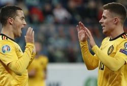 Anh em Hazard trải qua đêm đặc biệt với Bỉ ở vòng loại Euro 2020