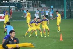 ĐT Việt Nam tăng cường rèn khả năng va chạm trước trận gặp Thái Lan