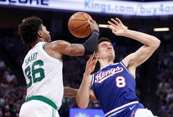 Cú game-winner hờ hững lăn khỏi vành rổ, Boston Celtics dứt chuỗi bất bại