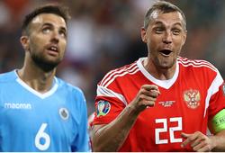 Nhận định San Marino vs Nga 02h45, 20/11 (Vòng loại Euro 2020)