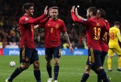 Tây Ban Nha và Italia thắng tưng bừng trong ngày hạ màn vong loại Euro 2020
