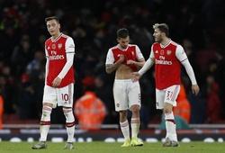 Arsenal phải chiến đấu trụ hạng với phong độ 6 trận gần đây