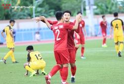Hà Đức Chinh khiêm tốn sau cú hat-trick vào lưới U22 Brunei