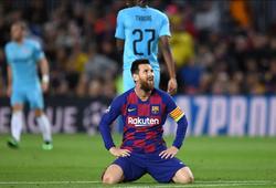 SỐC: Barca ghi bàn kém hơn 22 đội bóng ở Cúp C1 mùa này