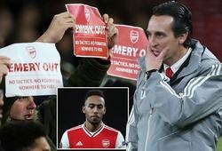 Arsenal sa thải Emery và bổ nhiệm một cựu công thần làm HLV tạm quyền