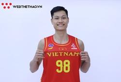 Phạm Đức Kiên chia tay đội tuyển bóng rổ Việt Nam