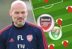 Đội hình Arsenal sẽ được Ljungberg thay đổi 6 vị trí nào trước Norwich?