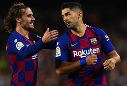 Griezmann ảnh hưởng kinh ngạc với Atletico khi cùng Barca gặp đội bóng cũ