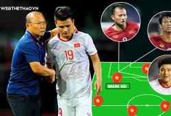 Mất Quang Hải, HLV Park Hang-seo sẽ dùng phương án nào để hạ Thái Lan?