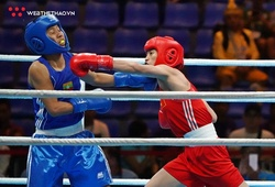 """Nguyễn Thị Tâm và Nguyễn Văn Đương chiến thắng cực """"bốc"""" trong ngày ĐT Boxing ra quân ở SEA Games 30"""