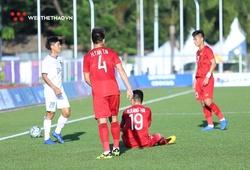 Quang Hải chấn thương: Nỗi lo cầu thủ bị quá tải ở SEA Games 30 xuất hiện