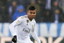 """Real Madrid khó xử trong việc """"tẩy thẻ"""" cho Casemiro đá Siêu kinh điển"""