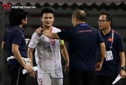 Thầy Park trấn an NHM về chấn thương của Quang Hải