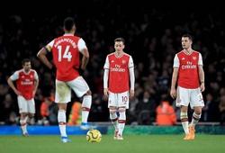Arsenal lặp lại chuỗi trận tệ nhất kể từ khi HLV Ljungberg… chưa ra đời