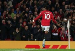 Rashford trước cơ hội vượt số bàn thắng với MU khi đụng độ Man City