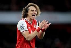 """Arsenal chịu """"lời nguyền"""" ghê gớm từ tuyên bố của David Luiz"""