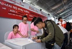 Marathon Quốc tế Thành phố Hồ Chí Minh Techcombank 2019 trả racekit cho VĐV