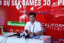 """Trưởng đoàn TTVN Trần Đức Phấn: """"Thành tích của Ánh Viên và Tú Chinh ở SEA Games 30 rất xuất sắc"""""""