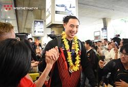 Đội tuyển bóng rổ Việt Nam huy hoàng trở về từ SEA Games với HCĐ lịch sử