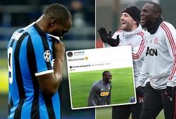 """Lukaku bị đồng đội cũ ở MU """"troll"""" sau khi cùng Inter chia tay Cúp C1"""