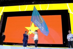 Trực tiếp lễ bế mạc SEA Games 30: Việt Nam nhận cờ chủ nhà