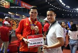 Webthethao thưởng nóng một số tuyển thủ điền kinh thi đấu ấn tượng ở SEA Games 30