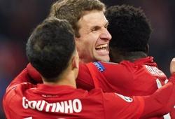 Bayern Munich lập kỷ lục Cúp C1 khi Coutinho 4 lần làm đau khổ Tottenham