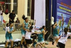 Đội bóng rổ nữ Tôn Đức Thắng lên ngôi vô địch giải bóng rổ sinh viên Tp.Hồ Chí Minh 2019