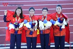 Thạc sĩ điền kinh Trần Thị Yến Hoa nhận thưởng nóng SEA Games 30 từ Thừa Thiên Huế