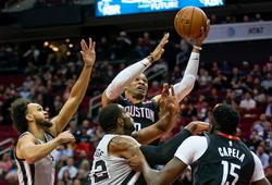 Lội ngược dòng khó tin, Houston Rockets phục hận thành công San Antonio Spurs