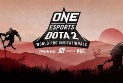 Kết quả ONE Esports Dota 2 Singapore ngày 1: EG thăng hoa