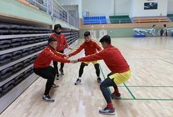 Quang Hải và các bệnh binh U23 Việt Nam tăng cường khối lượng tập hồi phục