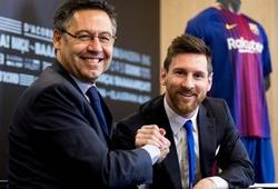 Hợp đồng mới của Messi với Barca sẽ có thời hạn bao lâu?