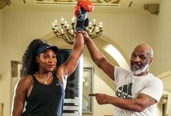 """""""Nữ hoàng quần vợt"""" Serena Williams học Boxing với Mike Tyson"""