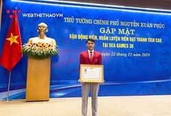 Ứng viên VĐV trẻ của năm Cúp Chiến thắng 2019 nhận Huân chương Lao động hạng Ba sau kỳ tích SEA Games 30