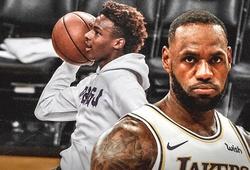 Huyền thoại NBA tin tưởng con trai LeBron James sẽ giỏi hơn cả cha mình