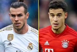 Coutinho và Gareth Bale giảm giá trị thê thảm trên thị trường