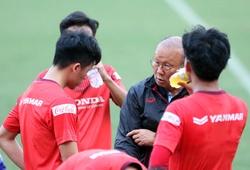 Đội tuyển U23 Việt Nam tập buổi đầu tiên tại TP Hồ Chí Mình