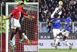 Rashford nhắm đến khả năng bật nhảy của Ronaldo sau khi ghi bàn cho MU