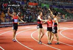Tiết lộ cực thú vị về đội chạy 4x400m tiếp sức hỗn hợp SEA Games 30, đề cử Đồng đội của năm Cúp Chiến thắng 2019