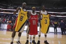 3 anh em nhà Holiday thực hiện điều chưa có tiền lệ tại NBA