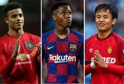 Messi Nhật Bản và Greenwood trong top 10 sao trẻ sẵn sàng bùng nổ năm 2020
