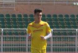 Đội tuyển U23 Việt Nam tập luyện buổi cuối cùng trước khi sang Thái Lan