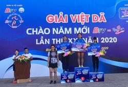 """""""Marathoner lấy nước mắt SEA Games 30"""" Hồng Lệ có danh hiệu đầu tiên trong năm mới 2020"""